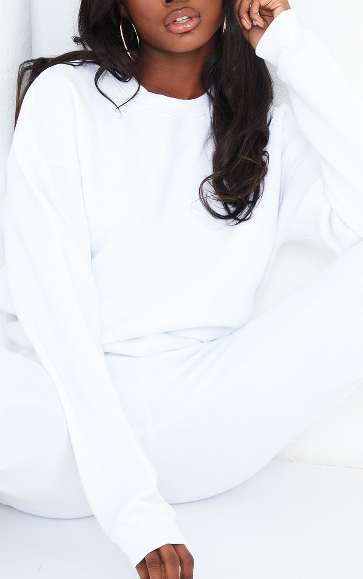Tall White Ultimate Oversized Sweatshirt 4