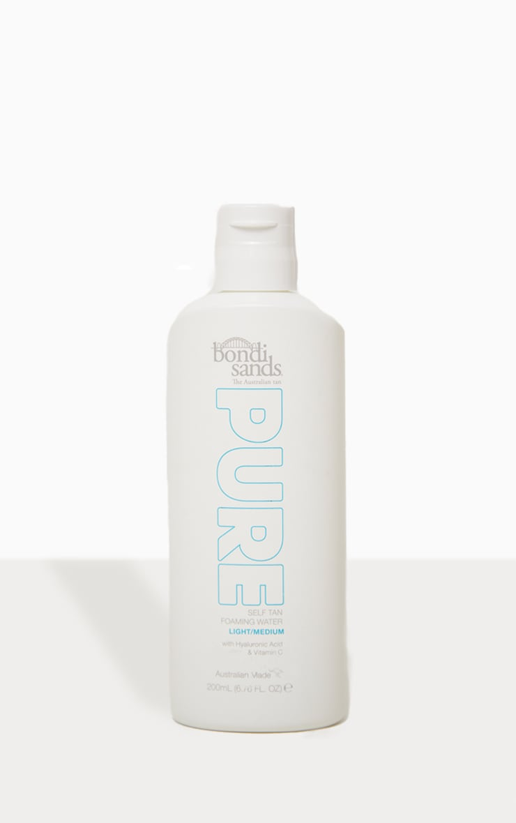 Bondi Sands Pure Self Tan Foaming Water Light/Medium 200ml 4