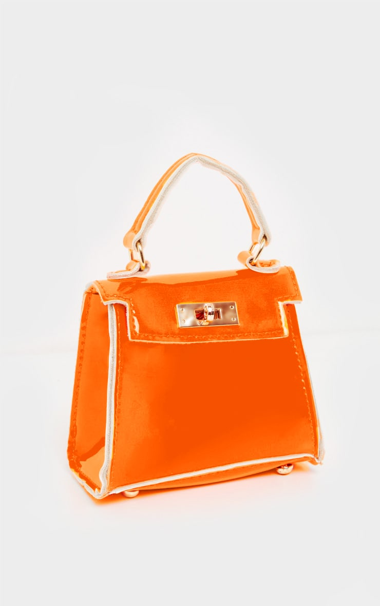 Neon Orange Micro Mini Bag 2