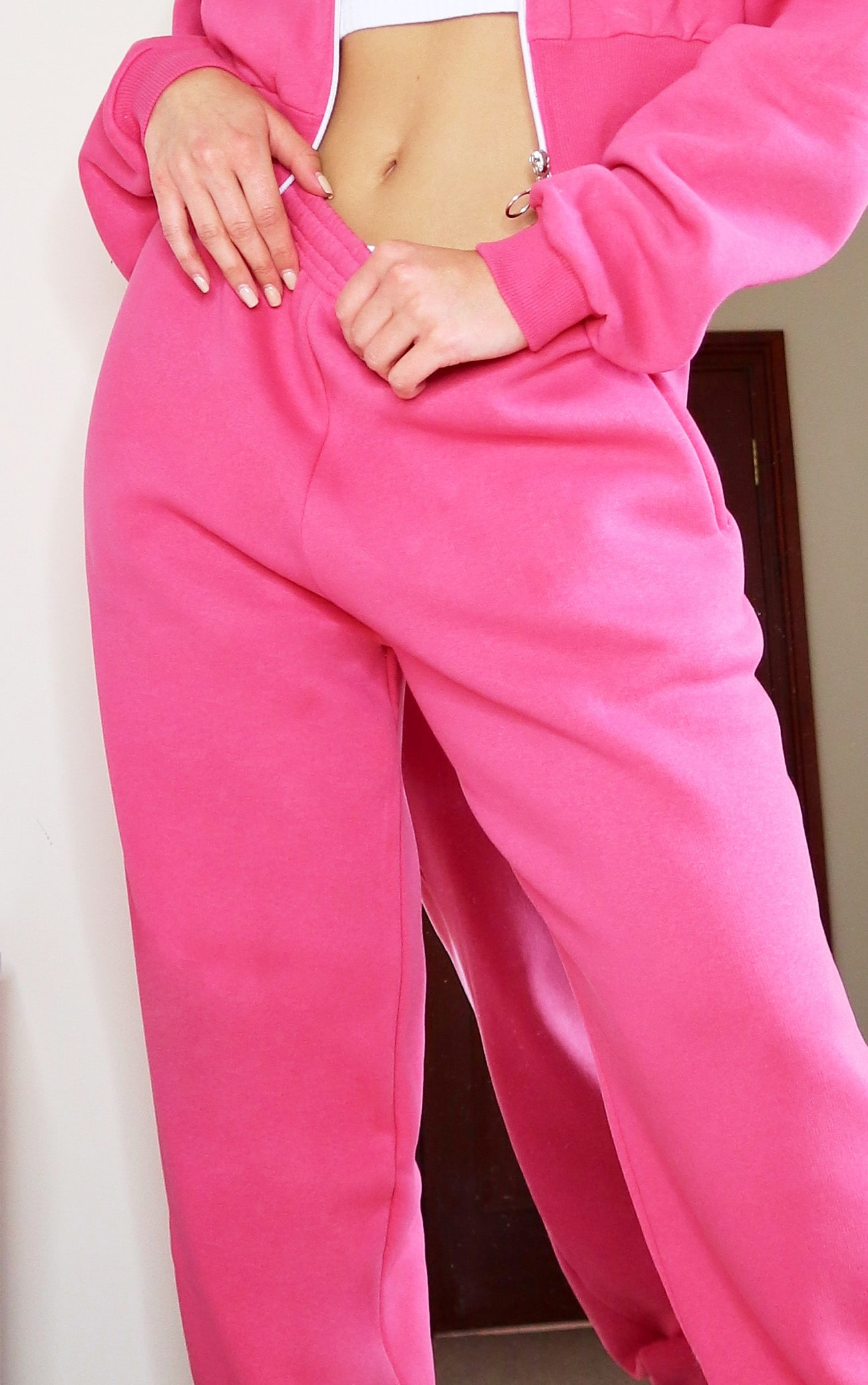 Hot Pink Joggers 4
