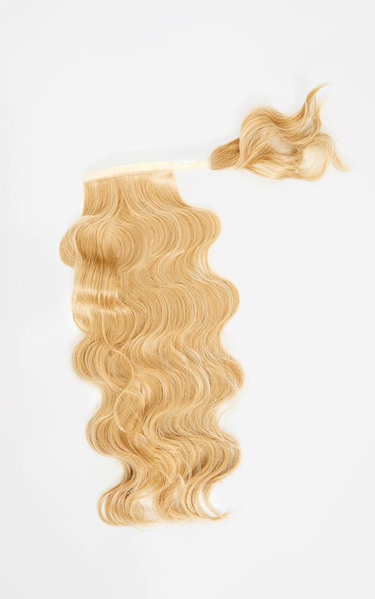 LullaBellz Grande Hollywood Wave 26 Wraparound Pony Golden Blonde 5