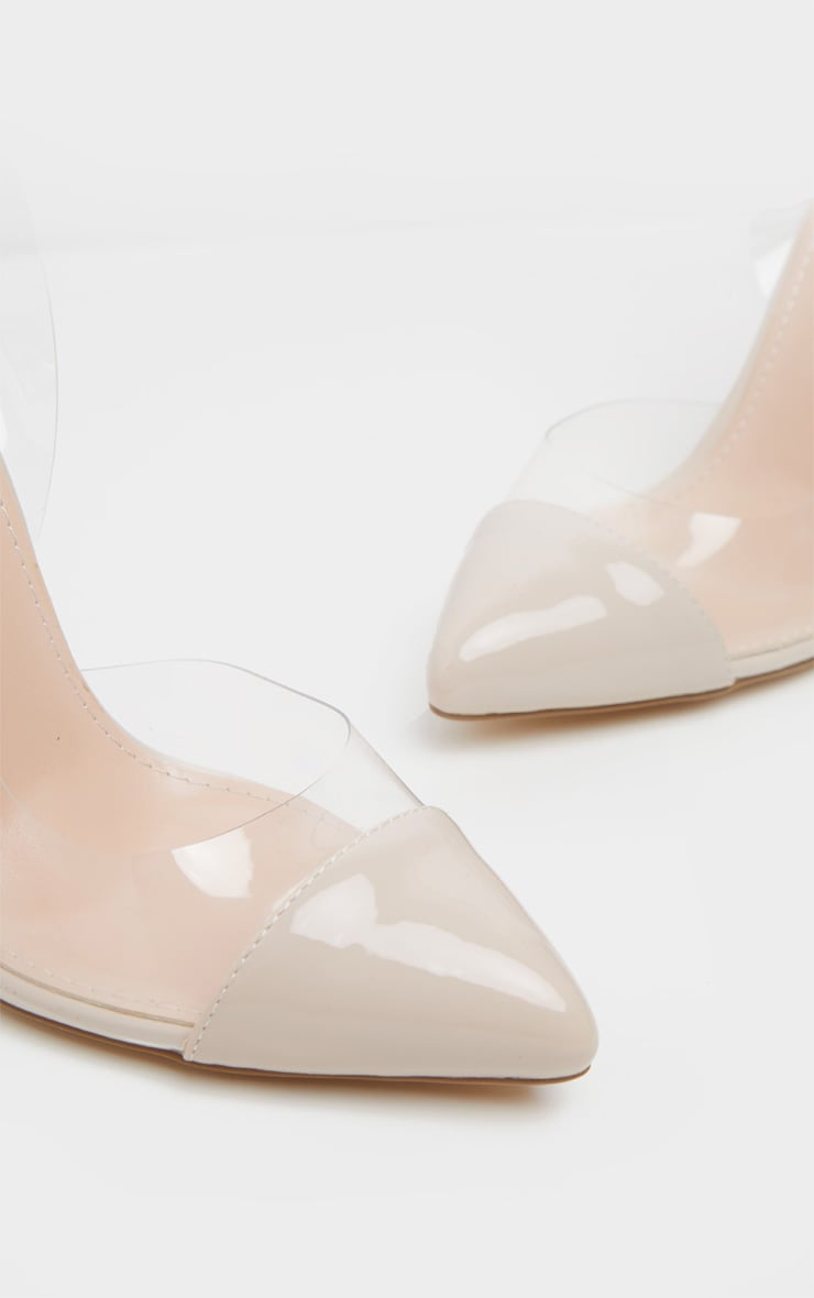 Nude Slingback Clear Court 3