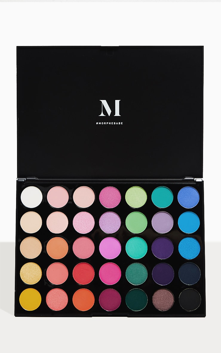 Morphe 35b Colour Burst Eyeshadow Palette 1