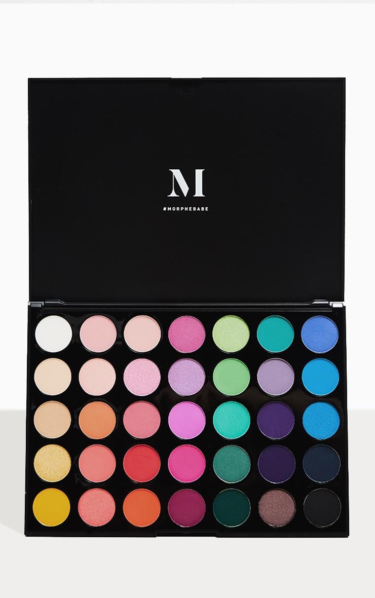 Morphe 35b 35 Colour Burst Eyeshadow Palette 1