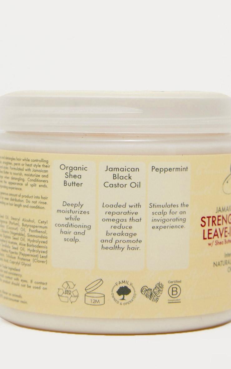 Shea Moisture - Après-shampooing sans rinçage à l'huile de ricin jamaïcaine 4