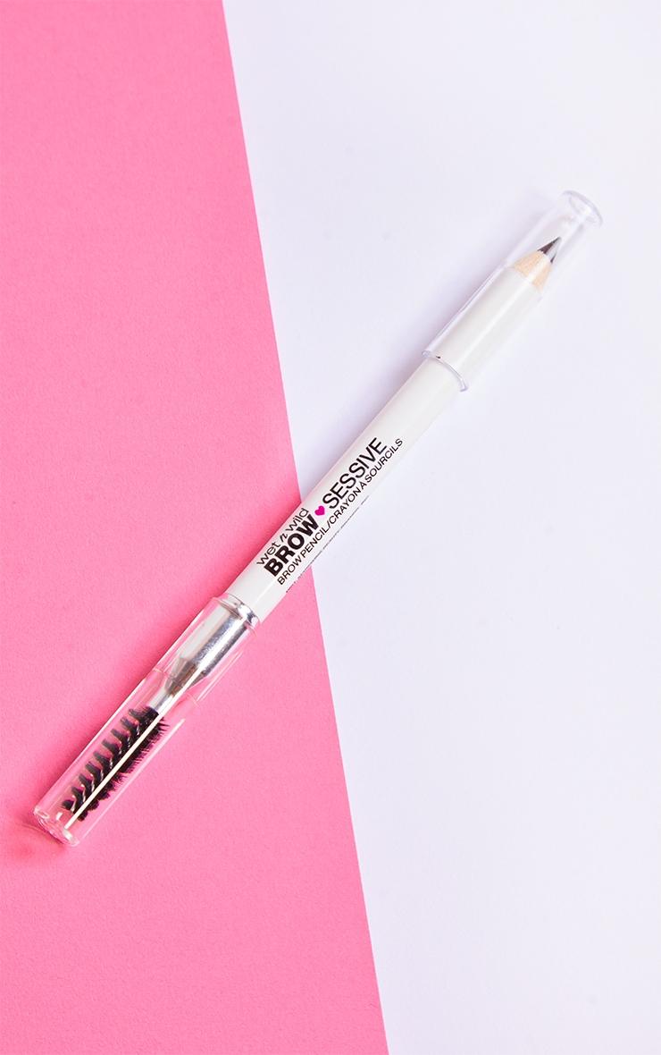 Wet N Wild Brow-Sessive Brow Pencil Medium Brown 1