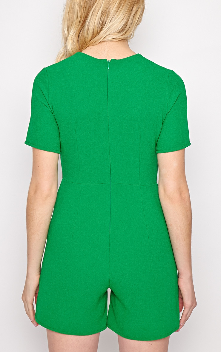 Isabelle Green Playsuit 2
