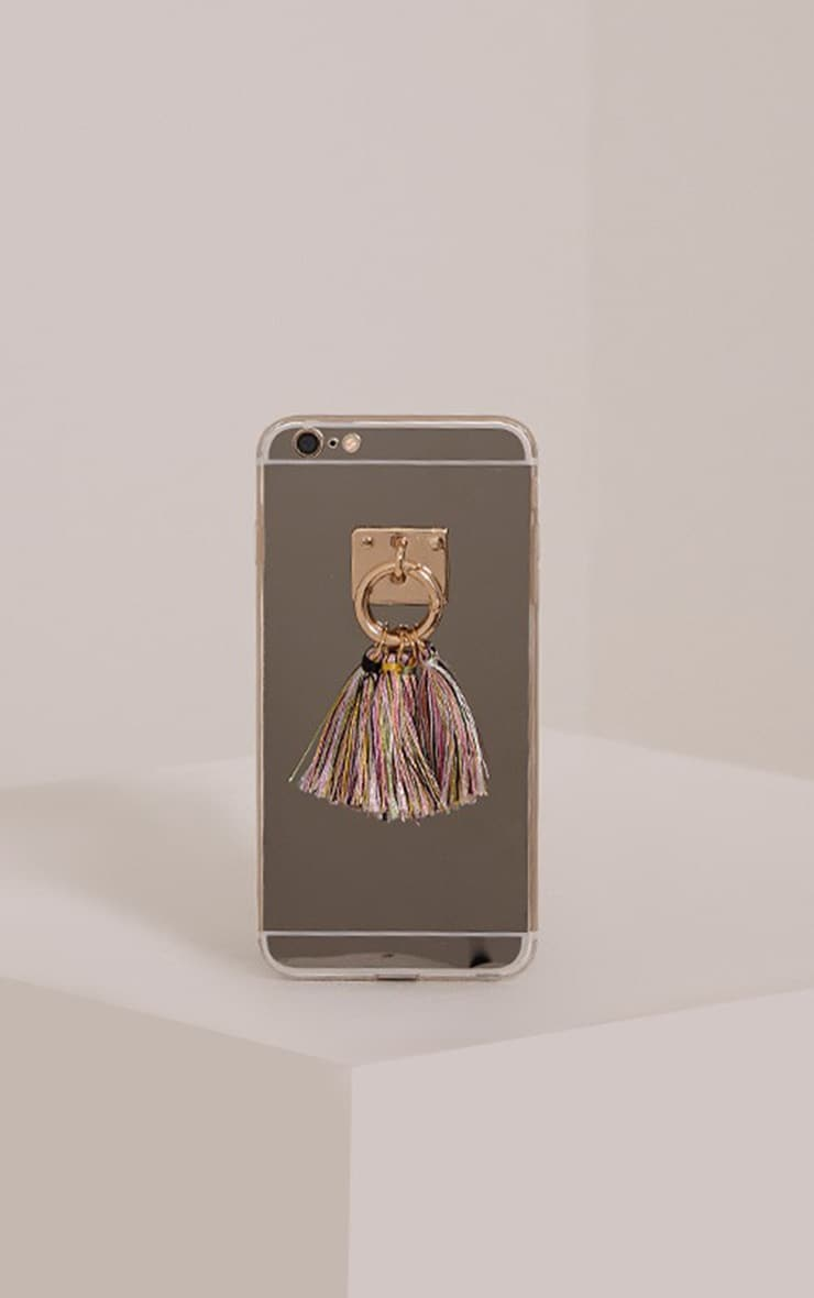Multi Iphone 6+ Tassel Detail Phone Case 1