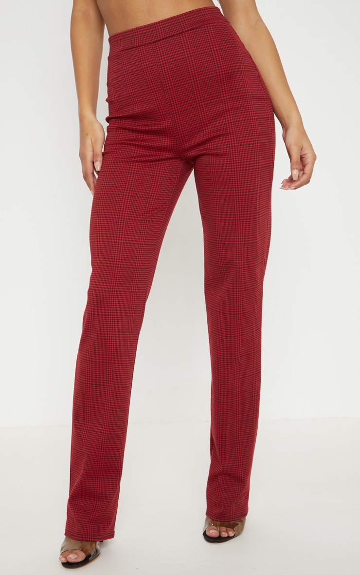 Red Checked Trouser 2