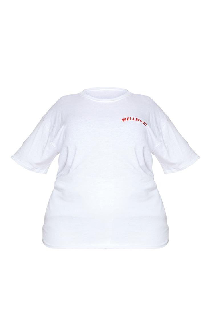 Plus Wellness White T Shirt 5