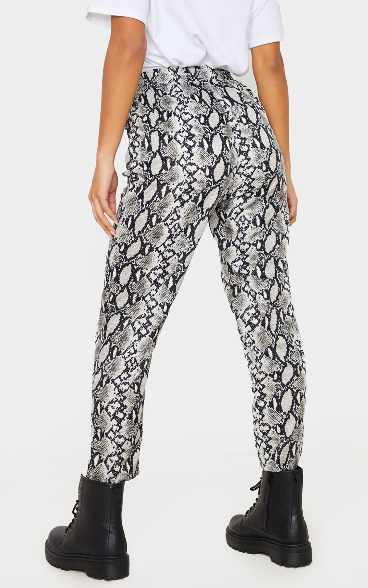 White Snake Casual Pants 4