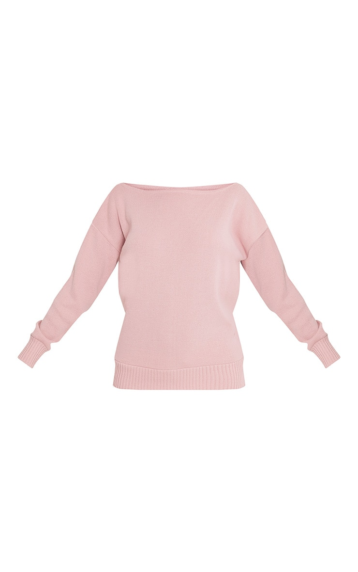 Otaline Pink Short and Jumper Knitted Lounge Set 3