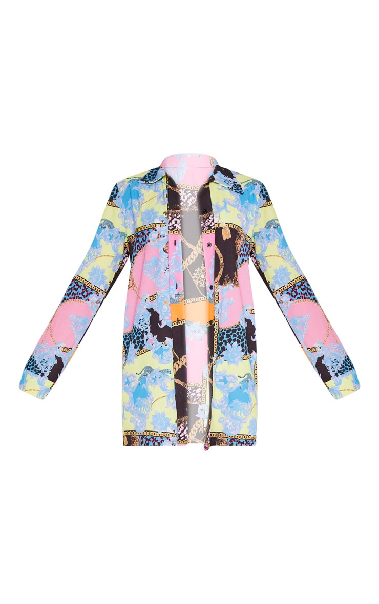 Multi Baroque Beach Shirt 6