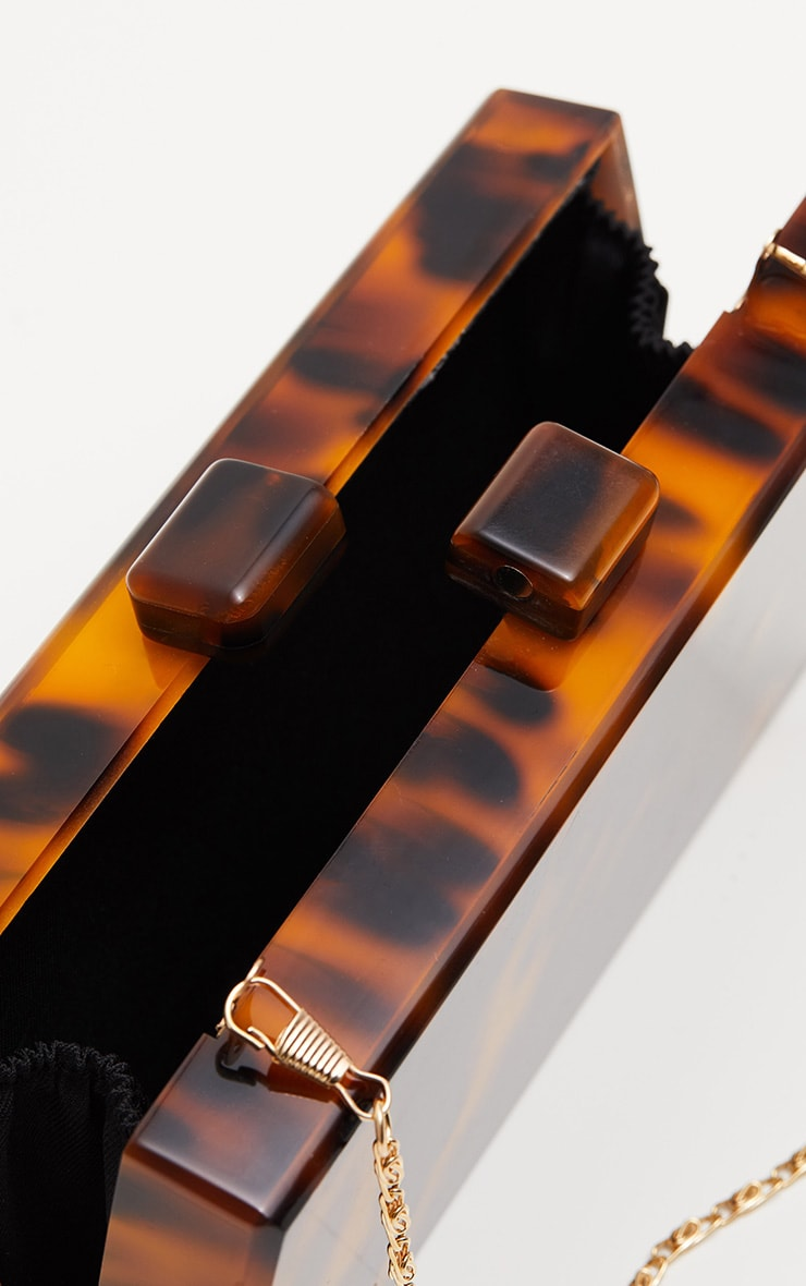 Tortoiseshell Resin Clutch 5