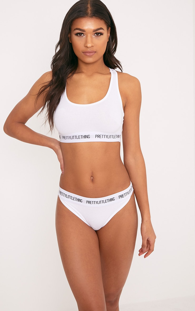 PRETTYLITTLETHING White Knickers 1
