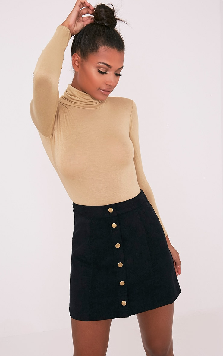 stylish design browse latest collections cheap sale Cammie Black Cord Mini Skirt