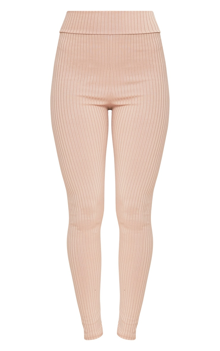 Harlie Stone Ribbed High Waisted Leggings 3