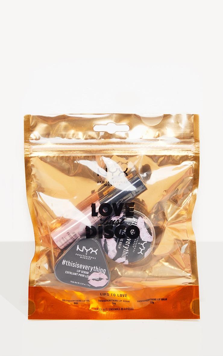 NYX Professional Makeup Lips to Love Nourishing Lip Christmas Gift Set 3