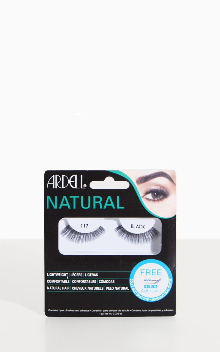 Ardell 117 Black False Eyelashes 1