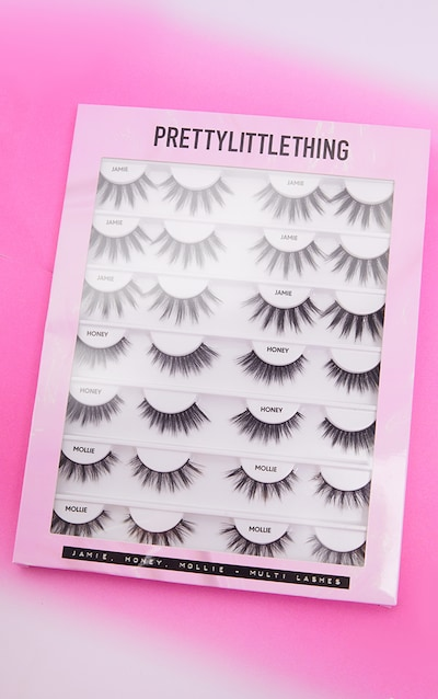 PRETTYLITTLETHING 14 Piece Lash Book