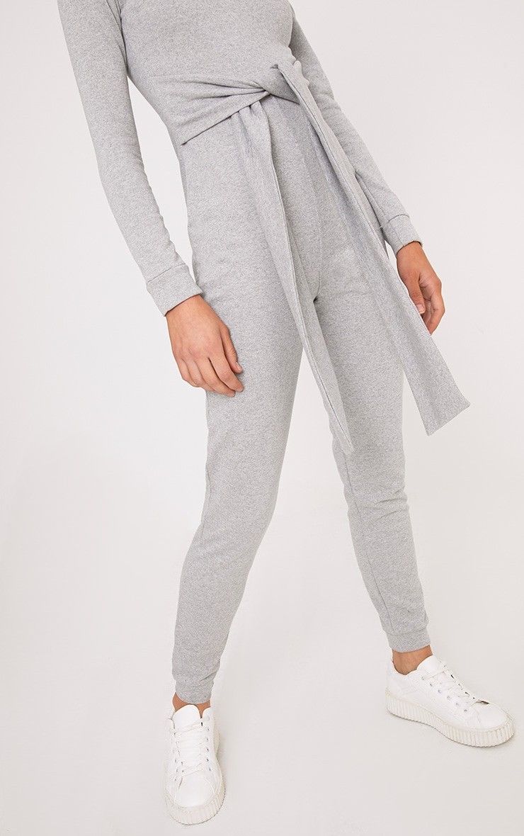 Lacie Grey Sweat Jumpsuit  5