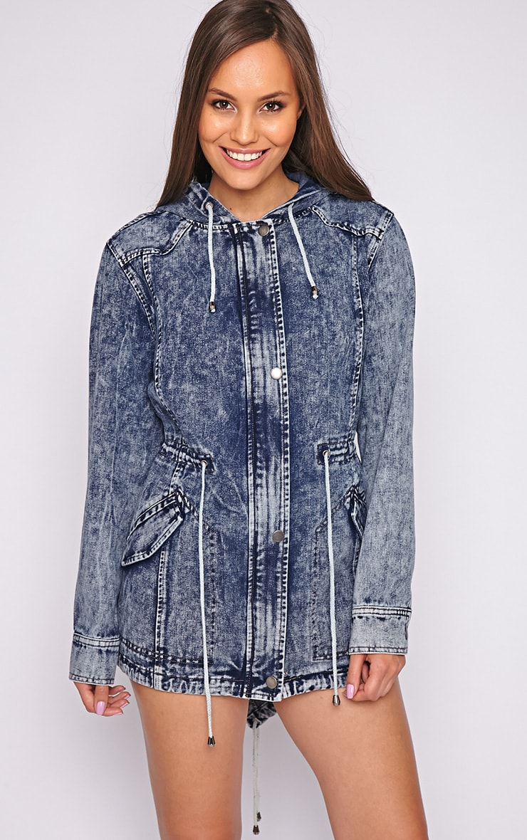 Vivian Denim Parka 1