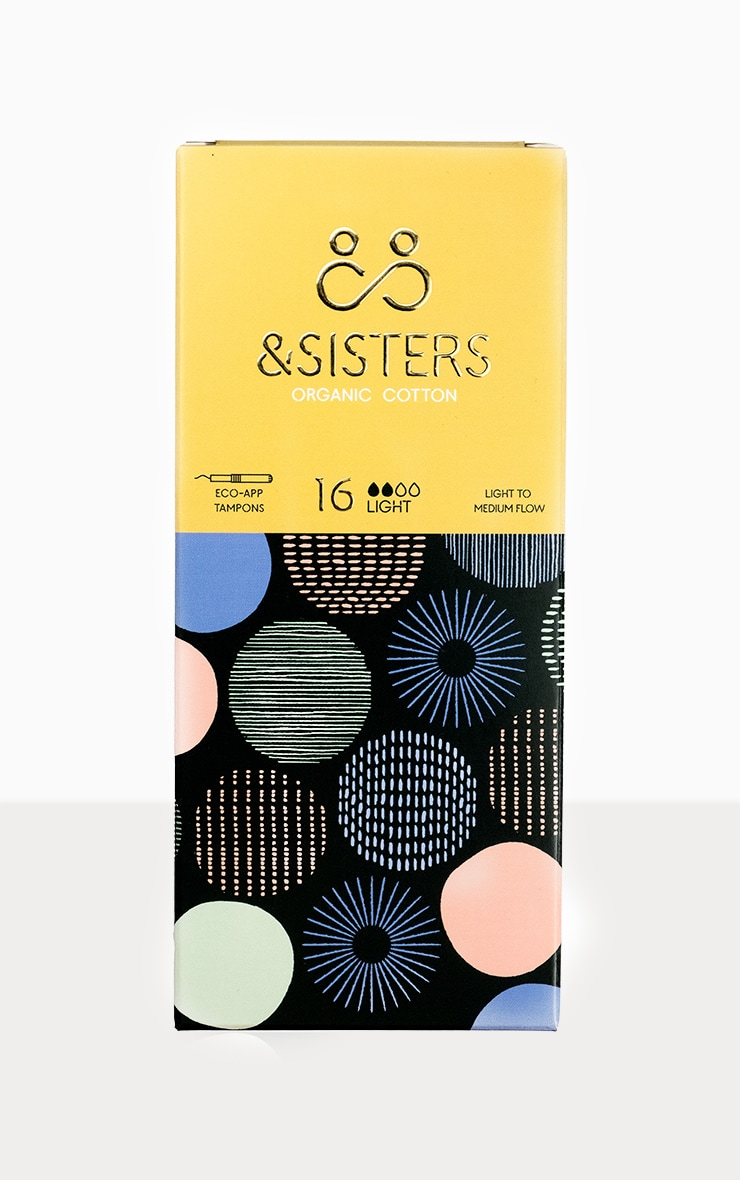 &Sisters Eco-Applicator Tampons Light 16 pack 1