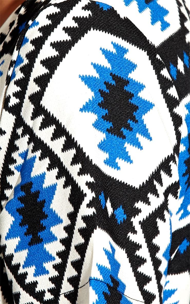 Millu Blue Aztec Print Dress-M 3