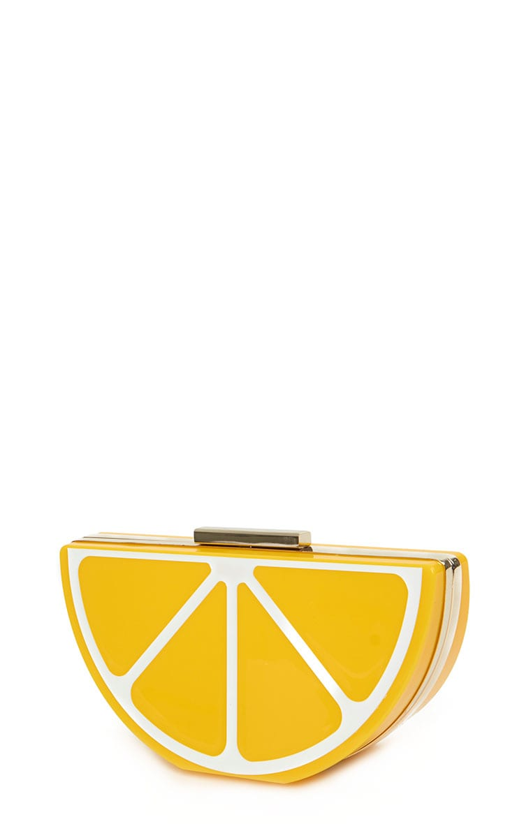 Lorian Lemon Clutch 6