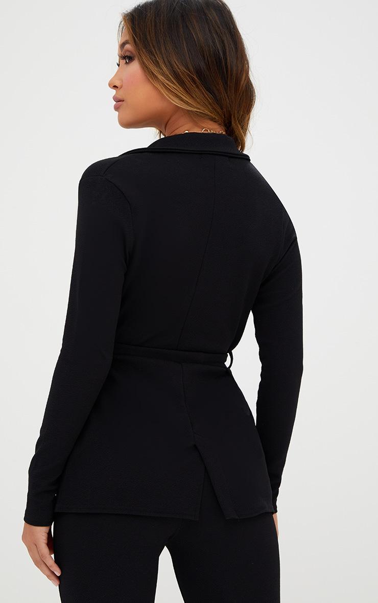 Black Belted Blazer  2