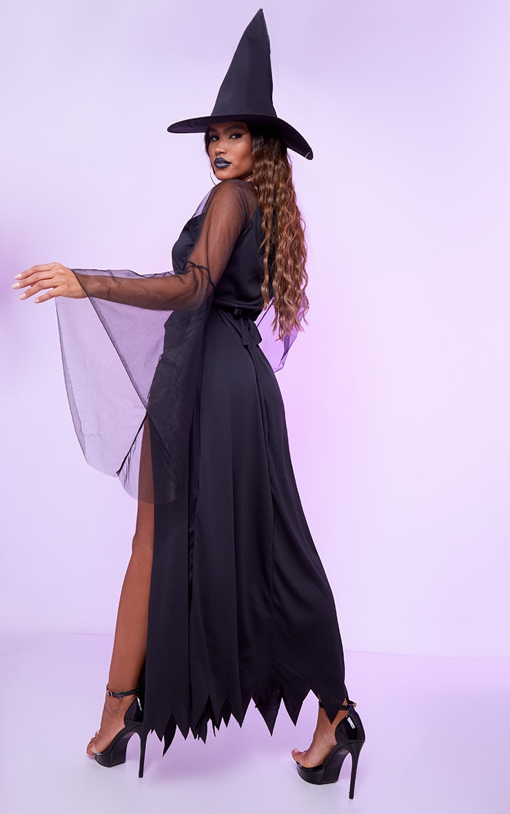 Black Witch Fancy Dress Costume 2