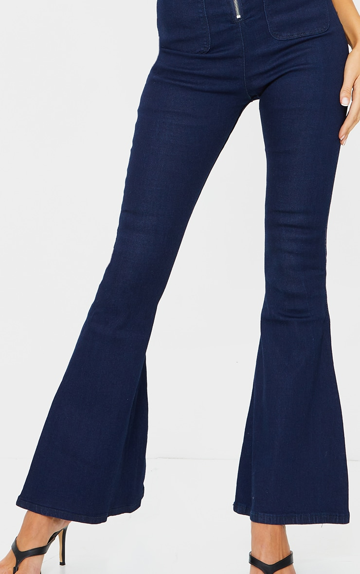 Indigo Kick Flared Jeans 4