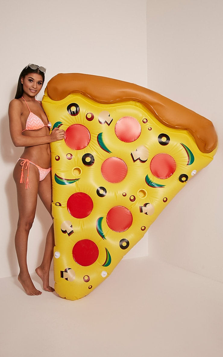Inflatable Pizza Slice Pool Float 3