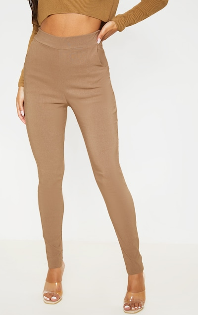 Camel Skinny Trousers