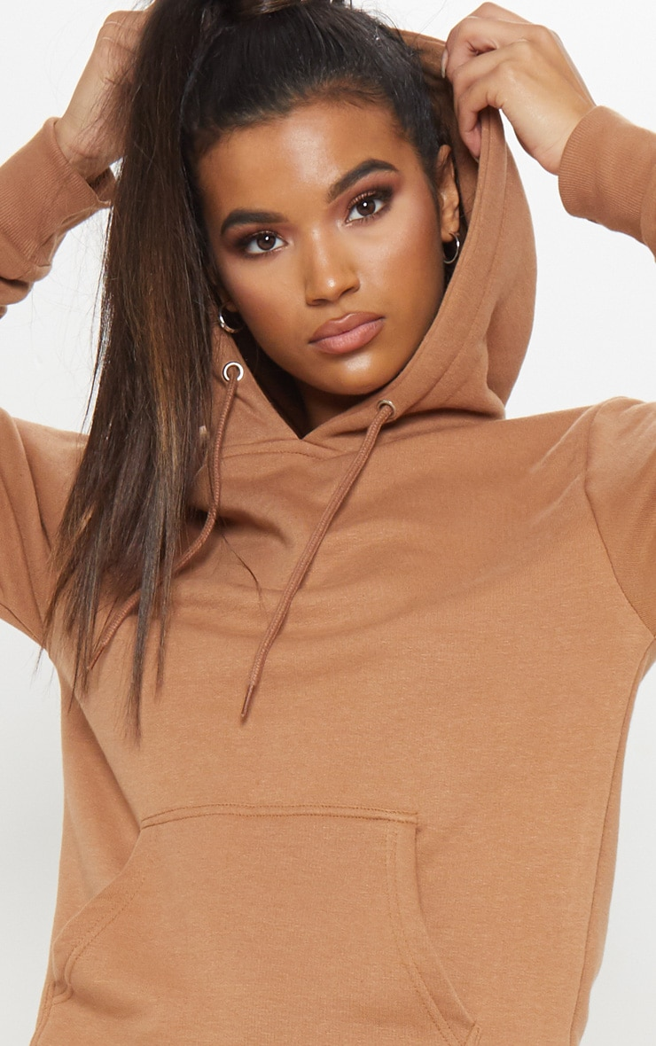 Taupe Oversized Hoodie 5