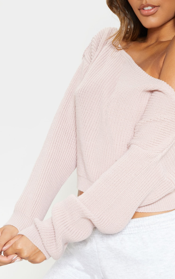 Blush Off Shoulder Sweater 5