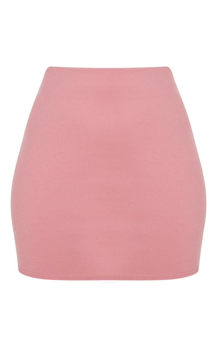 Plus Pink Mini Skirt 6