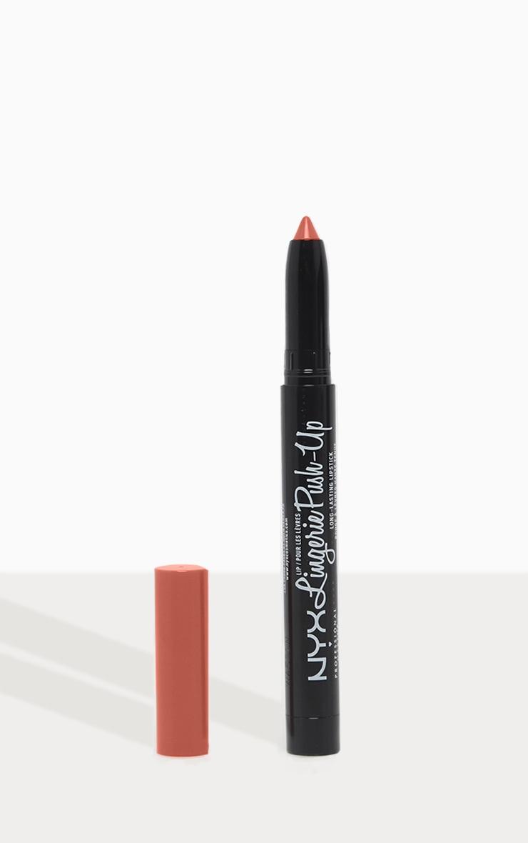 NYX PMU Lip Lingerie Matte Plumping Nude Lipstick Exotic 1