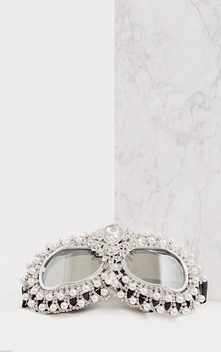 Inga Diamante Encrusted Festival Goggles 2