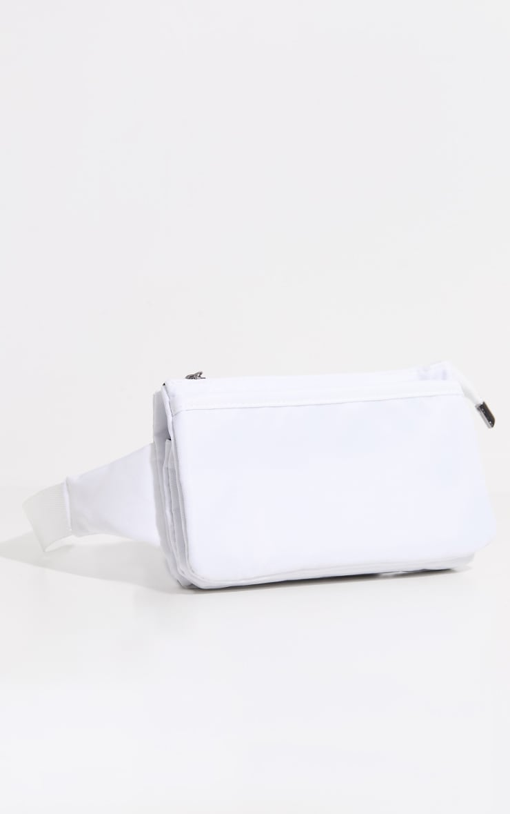 White Thin Bum Bag 2
