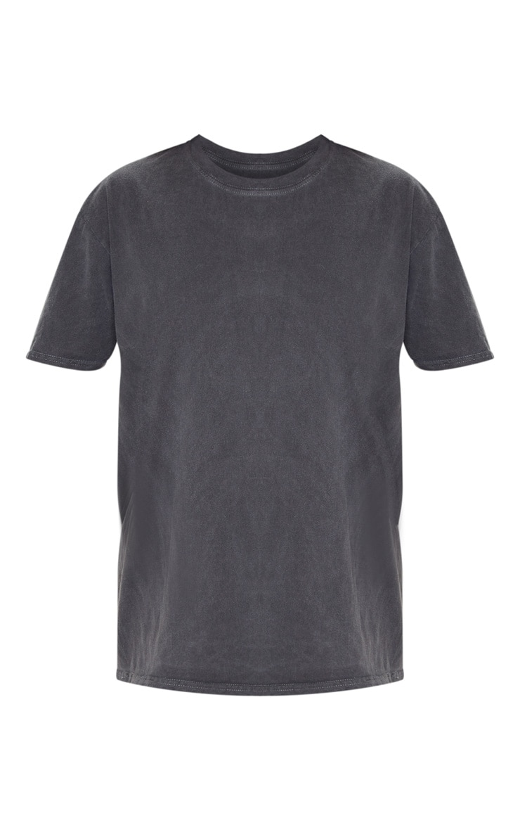 Grey Washed T Shirt 5