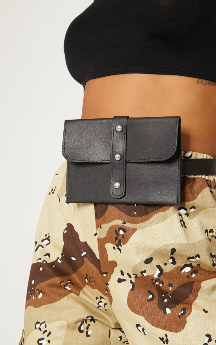 Black Stud Belt Bag 3