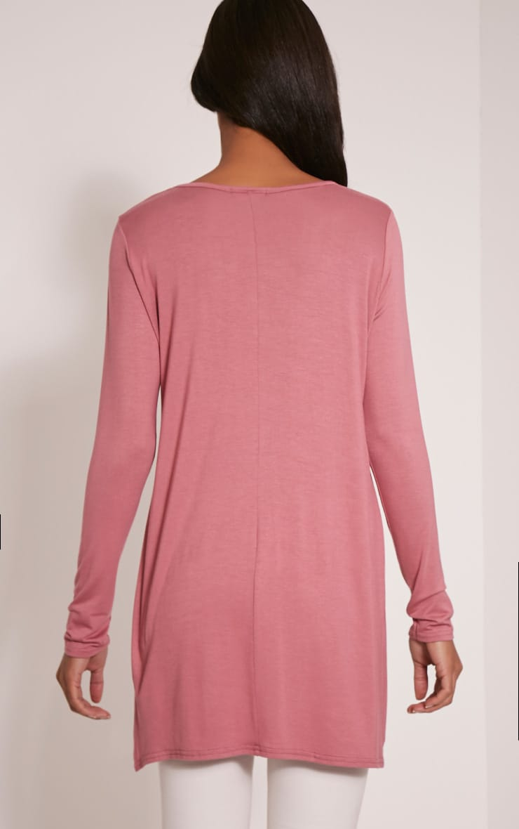 Tamsyn Rose Long Sleeve Side Split Top 2
