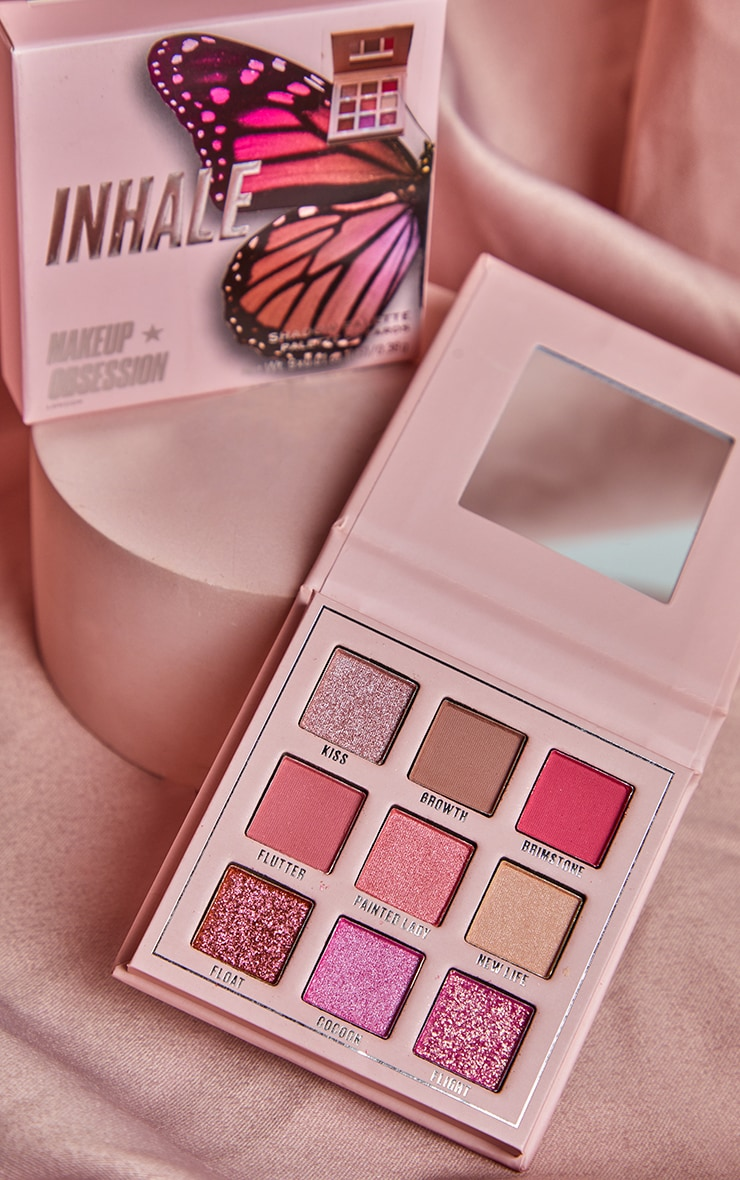 Makeup Obsession Inhale Eyeshadow Palette 3