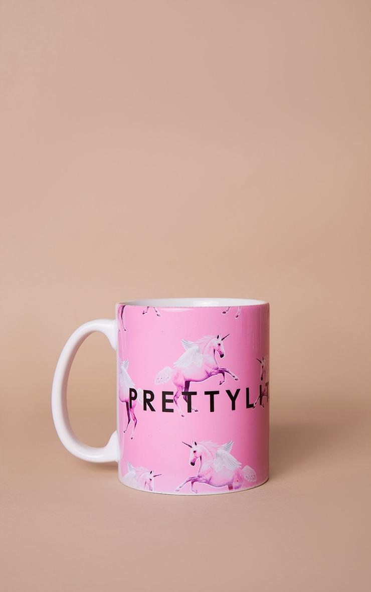PRETTYLITTLETHING Pink Unicorn Mug 3