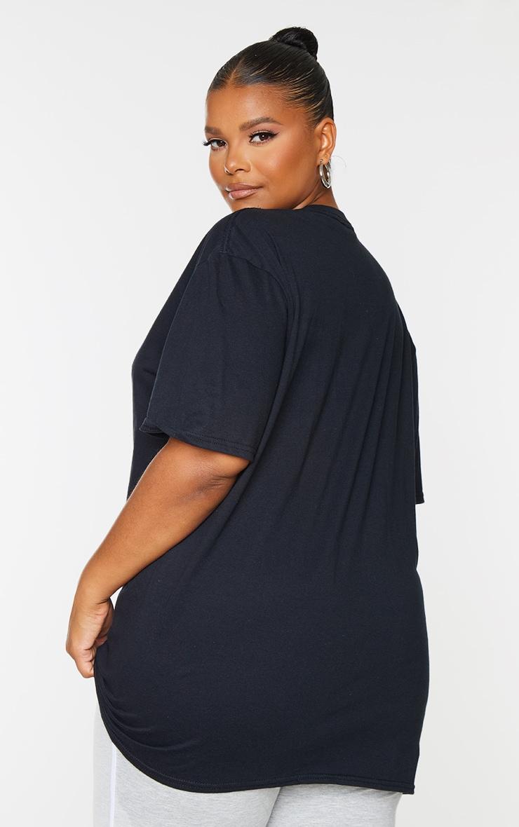 PLT Plus - Lot de 2 tee-shirt oversize classiques - Noir & Blanc 2