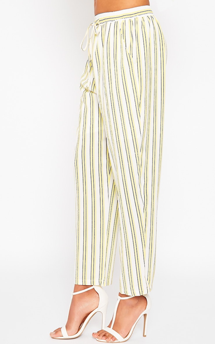 Kali Cream Stripe Trousers 3