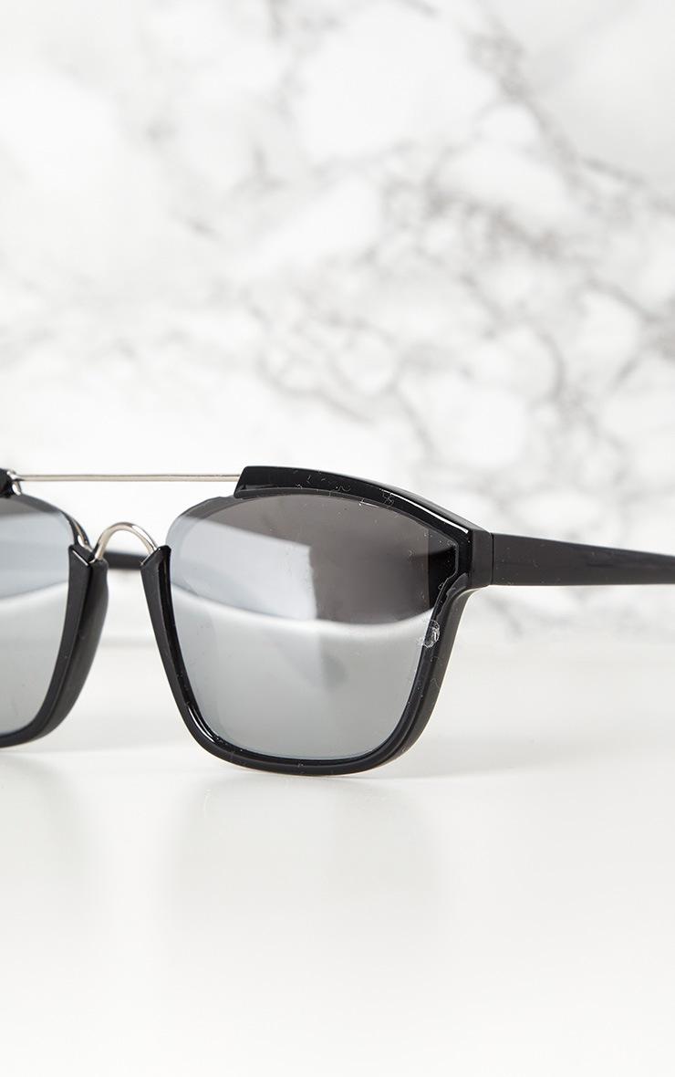 Black Brow Bar Sunglasses 4