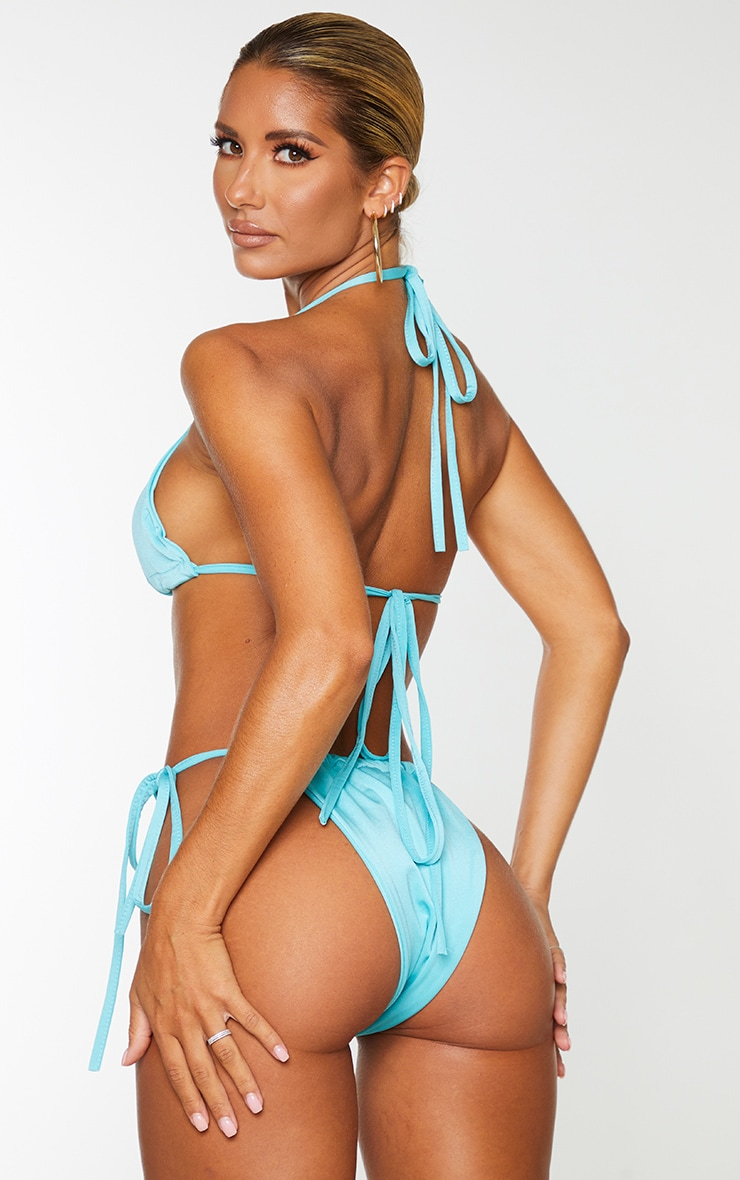 Aqua Triangle Bikini Top 2